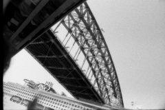 Biennale of Sydney (NIRIN 2020) preview, Friday March 13, 2020. Olympus OM2n, Kodak P3200 film.